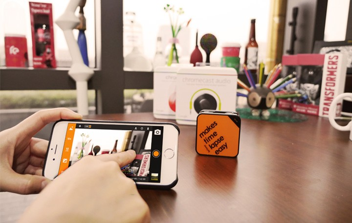 Wi-Fi and Bluetooth Remotely Controlled Brinno Camera APP